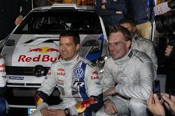 Jari-Matti Latvala et Sébastien Ogier