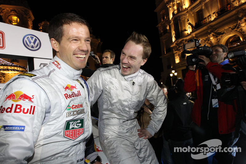 Яри-Матти Латвала и Себастьен Ожье. Презентация Volkswagen Polo R WRC, презентация.