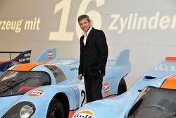 Fritz Enzinger, hoofd van het LMP1 project