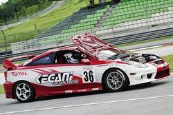 Problemen voor #36 Toyota Celica: Kenny Lee, Jim Hunter