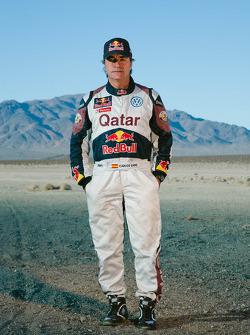 Карлос Сайнс. Тесты Qatar Red Bull Rally, тесты.