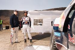 Нассер Аль-Аттия и Тимо Готтшальк. Тесты Qatar Red Bull Rally, тесты.