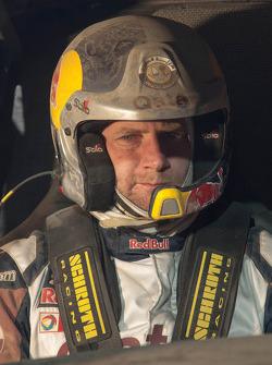 Тимо Готтшальк. Тесты Qatar Red Bull Rally, тесты.
