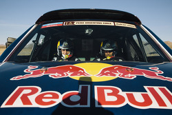Нассер Аль-Аттия и Лукас Круз. Тесты Qatar Red Bull Rally, тесты.