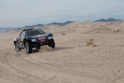 De Qatar Red Bull Rally Team buggy