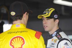 Brad Keselowski en Joey Logano, Penske Racing Ford