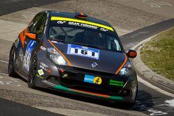 #161 Dürener Motorsport Club e.V. im ADAC Renault Clio Cup: Jörg Walkowski, Benjamin Weidner, Dietma