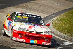 #155 Kissling Motorsport Opel Manta: Olaf Beckmann, Volker Strycek, Peter Hass, Jürgen Schulten