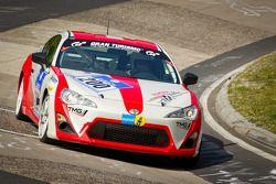 #200 Toyota Swiss Racing Toyota GT86: Natacha Gachnang, Oliver Burri, Christoph Wuest, Andreas Lanz