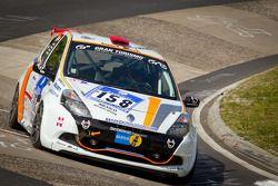 #158 Schlaug Motorsport Renault Clio: Xavier Lamadrid Sr., Xavier Lamadrid Jr., Max Girardo, Mark Do