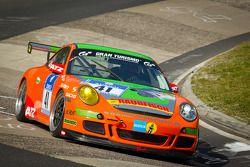 #41 Porsche 911 GT3: André Krumbach, Harald Schlotter, Holger Fuchs, Malte Mahlert