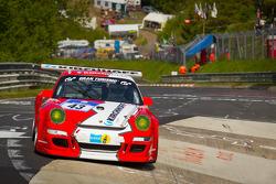 #43 Porsche 911 GT3: Johannes Kirchhoff, Elmar Grimm, Gustav Edelhoff