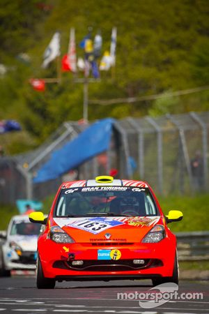 #163 raceunion Teichmann Racing Renault Clio Cup: Michael Schneider, Marko Stipp