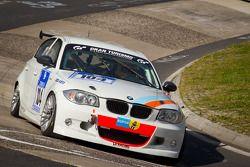 #104 BMW 130i Cup: Dominique Nury, Jean-Marc Rivet-Fusil, Philippe Burel