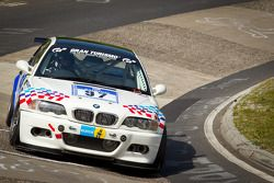 #97 BMW E46 M3: Guy Povey, Kevin Clarke, Angus Kirkwood, Ian Donaldson