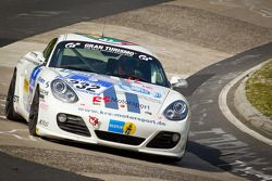 #232 Porsche Cayman S: Ivan Jacoma, Nicola Bravetti, Matteo Cassina, Ivan Reggiani