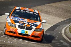 #215 Scangrip Racing / SFG Schönau e.V. im ADAC BMW E36 M3: Niels Borum, Maurice O'Reilly, Wayne Moo