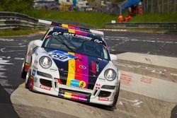 #250 Kremer Racing Porsche 911 GT3: Eberhard Baunach, Ulf Karlsson, Martin Kalandrik, Edgar Salewsky