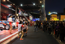 Toyota Team Thailand entertainment