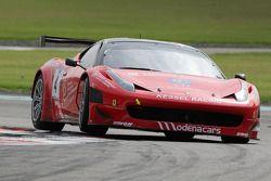 #4 Kessel Racing Ferrari 458 Italia: Tiziano Carugati, Mario Cordoni, Mathias Beche