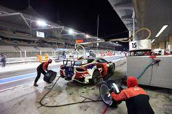 #15 AT Racing Ferrari 458 Italia: Martin Lanting, Niek Hommerson, Louis Machiels
