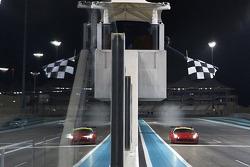 #1 AF Corse Ferrari 458 Italia: Gaetano Ardagna, Gianmaria Bruni, Toni Vilander takes the win