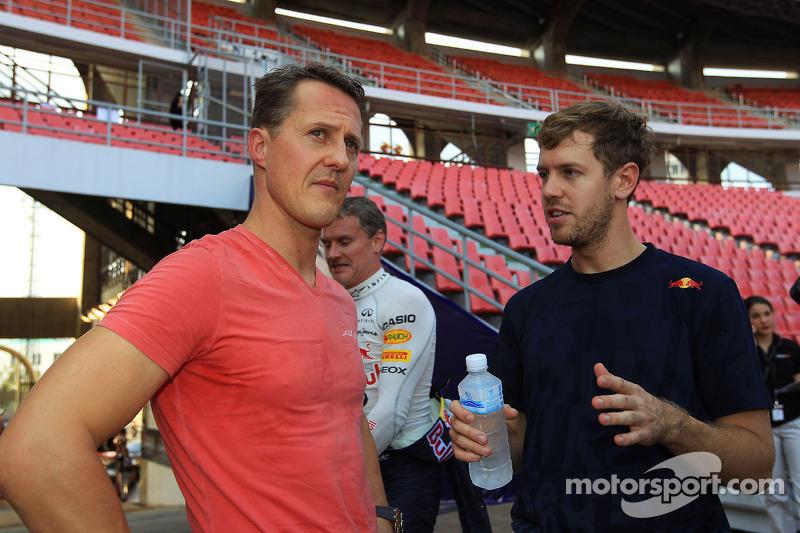 Michael Schumacher ve Sebastian Vettel