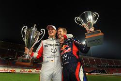 1. Sebastian Vettel und Michael Schumacher