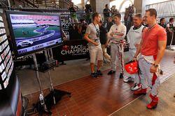 Jamie Whincup, Mick Doohan y Michael Schumacher