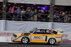 Stig Blomqvist conduce un Audi Quattro