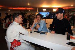 Tom Kristensen y Sébastien Ogier