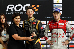 1. Romain Grosjean; 2. Tom Kristensen; Michele Mouton