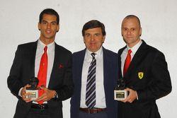 Federico Leo, Jesus Pareja and Gianmaria Bruni