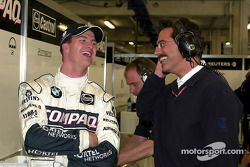 Ralf Schumacher y Dr. Mario Theissen