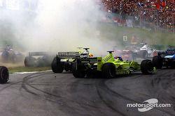 Crash at the start