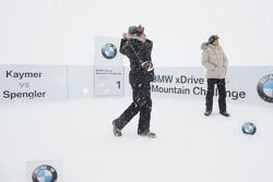 Ryder Cup champion Martin Kaymer and DTM champion Bruno Spengler compete in the BMW xDrive Mountain