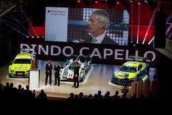 Rinaldo Capello is honored