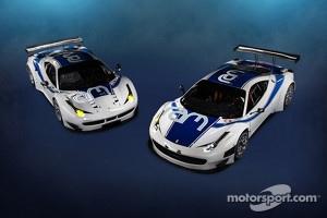 The RAM Racing Ferrari 458 Italia, GT3 and GTE variants