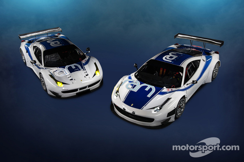The RAM Racing Ferrari 458 Italia, GT3 and GTE variants