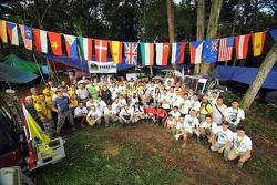 32 nationaliteiten in de RF, een internationaal evenement