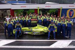 L'équipe Minardi-Fondmetal fête ses 250 Grands Prix