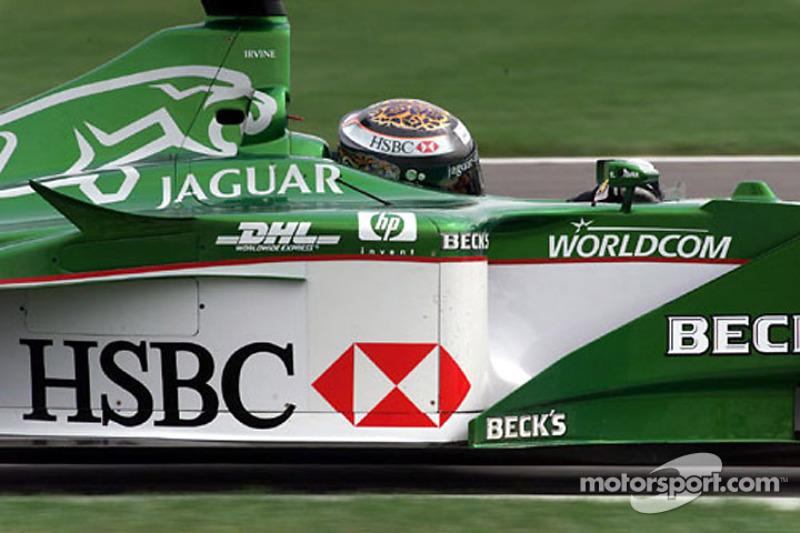 Eddie Irvine, Jaguar, 2000