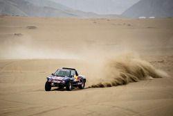#300 Buggy: Nasser Al-Attiyah, Lucas Cruz, Test bei Lima, Peru
