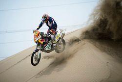 #29 KTM: Kurt Caselli test bij Lima, Peru
