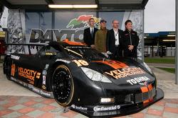 apresentação do Wayne Taylor Racing Corvette Dallara
