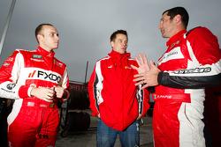 Jeff Segal, Toni Vilander and Max Papis