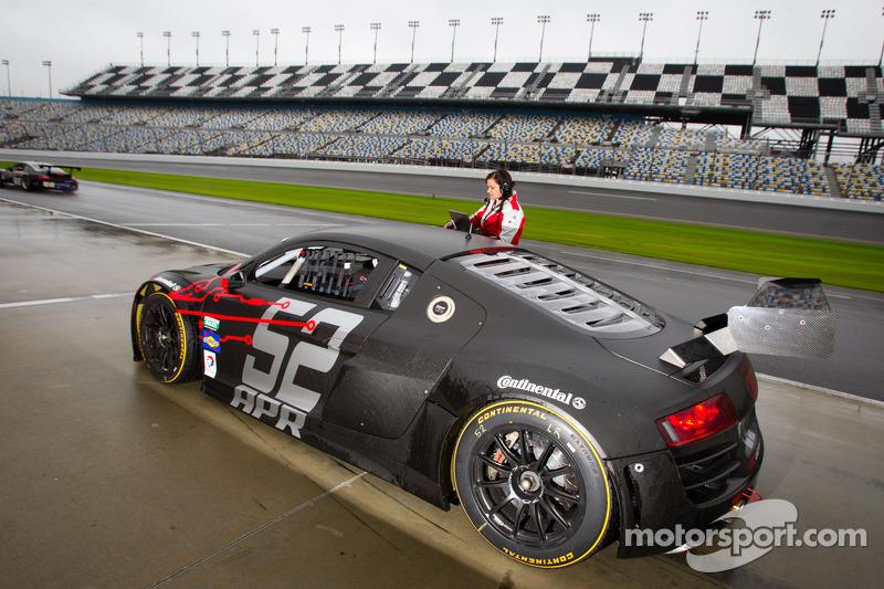 #52 Audi Sport Customer Racing/APR Motorsport Audi R8 Grand-Am: Jim Norman