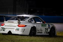Spin for #72 Park Place Motorsports Porsche GT3: Chuck Cole, Grant Phipps, Mike Vess, Alex Whitman