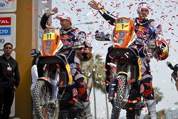#11 KTM: Ruben Faria e #1 KTM: Cyril Despres