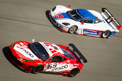 #69 AIM Autosport Team FXDD com Ferrari Ferrari 458: Emil Assentato, Anthony Lazzaro, Nick Longhi, G